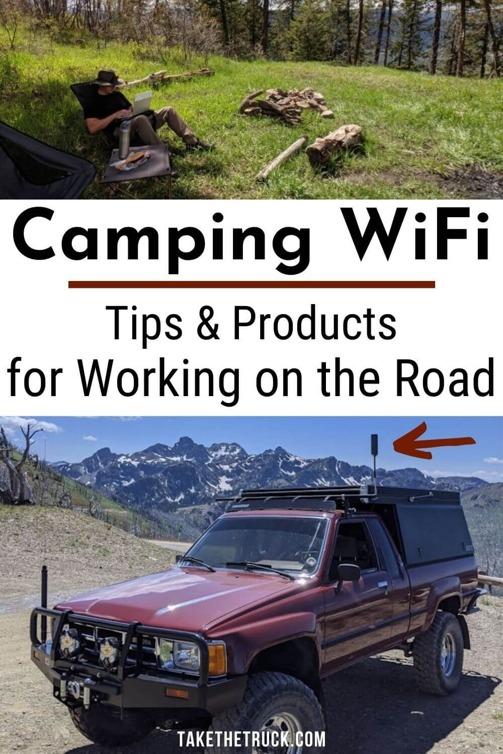 Check this out if you need wifi while camping! We've finally found a portable camping wifi antenne and cell signal booster that helps provide wifi while traveling, camping, or RVing!