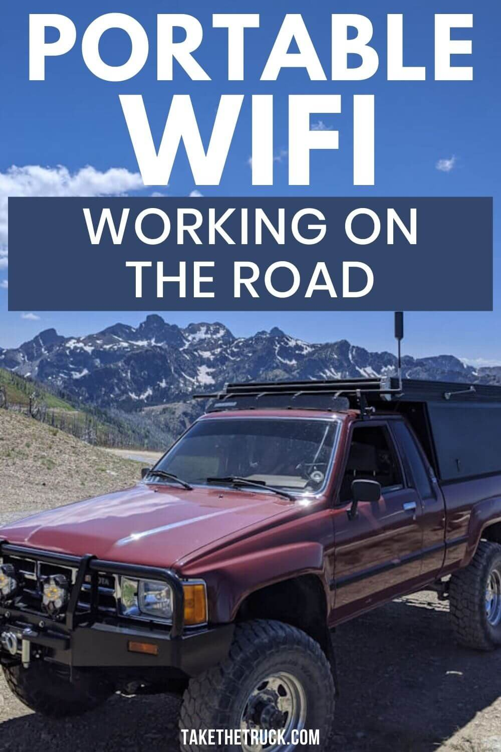 Read this if you need wifi while camping! We've finally found a portable camping wifi antenne and cell signal booster that helps provide wifi while traveling, camping, or RVing!
