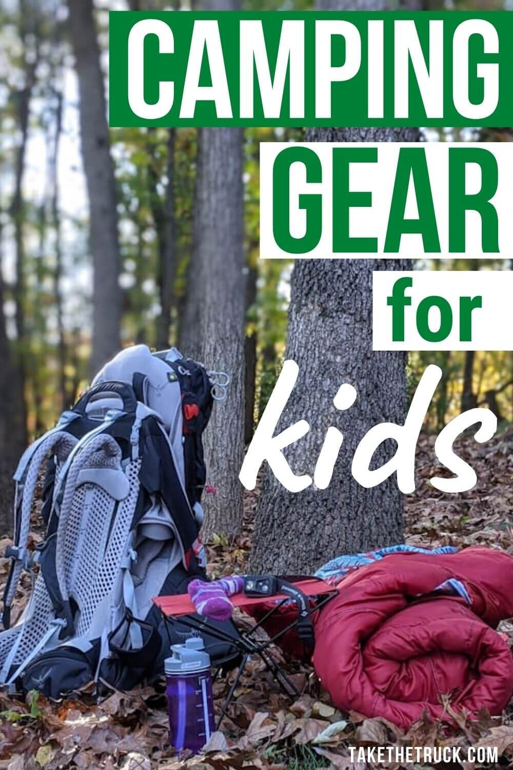 Looking for the best kids' camping gear to buy for the children in your life? Check out more than 20 useful camping gear ideas that make great outdoor gear gifts for kids, from babies on up to teens.