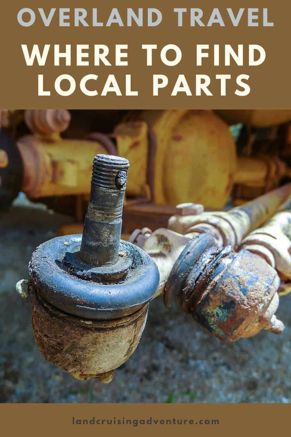 overland travel - find local parts