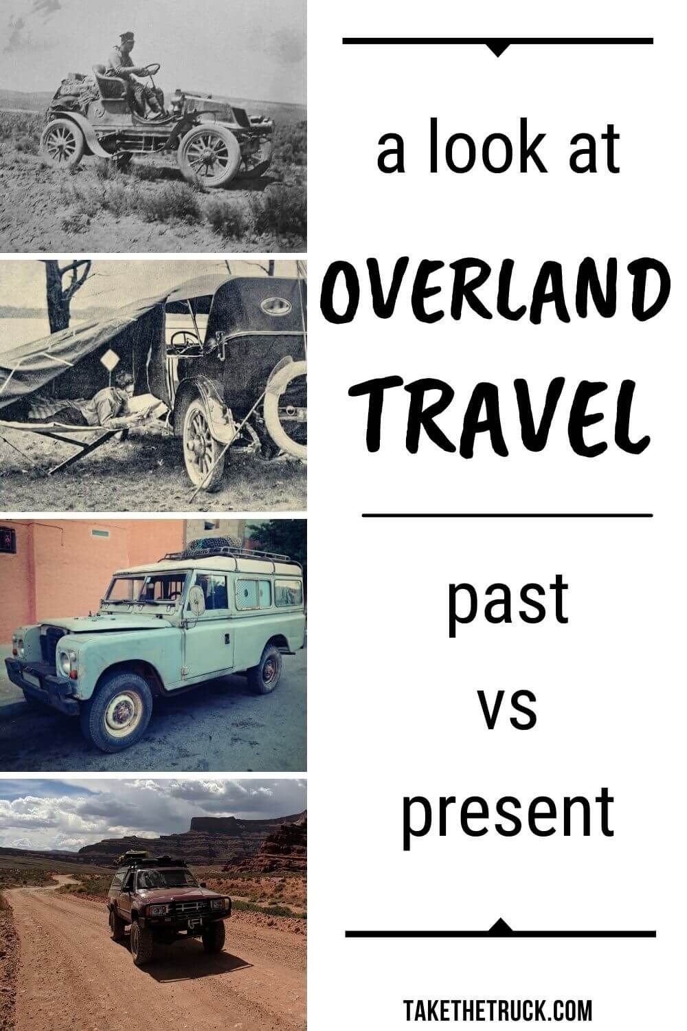 Quick and fun read about the history of overlanding and overland travel in the United States. Helps to answer the question, What is overlanding? and gives some overlanding basics for beginners.