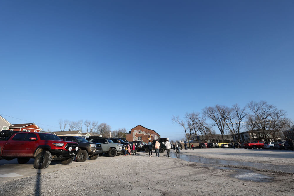 Overlanding group small overland expo event at rigs & coffee