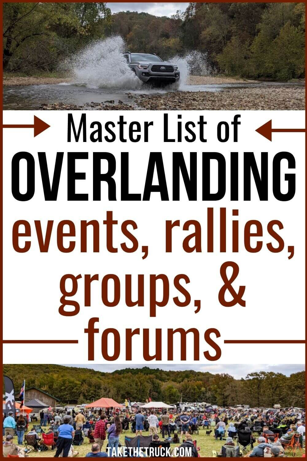 Are you an overlanding beginner wondering how to start overlanding? Use this master list to find an overland event, overland group, forum, overland rally, or overland expo all about overland travel!