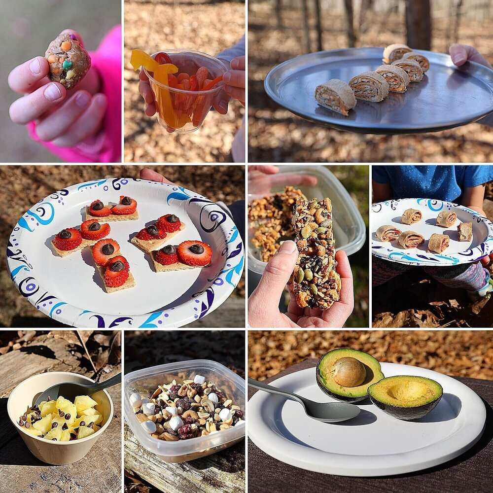 Easy camping snacks that are healthy, for kids, or to buy for camping trips