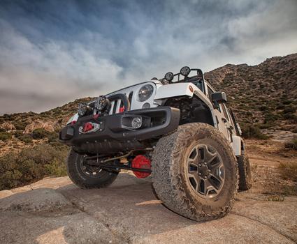 Jeep JK Off Road Build