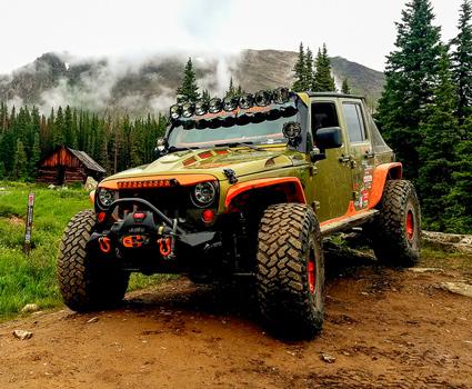 Jeep JKU Off Road Build