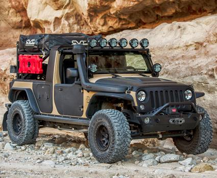 Overlanding Jeep JK Build