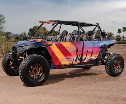 Polaris RZR XP4 Custom Build