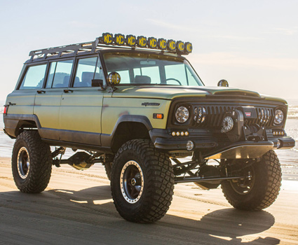 Reconditioned Jeep Wagoneer Build