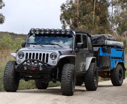 Overlanding & Camping Jeep JK Build