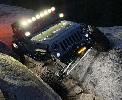Jeep JK Titan Rock Crawling Build