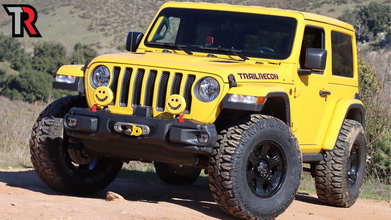 Simple Jeep JL Off Road Build - Action Shot