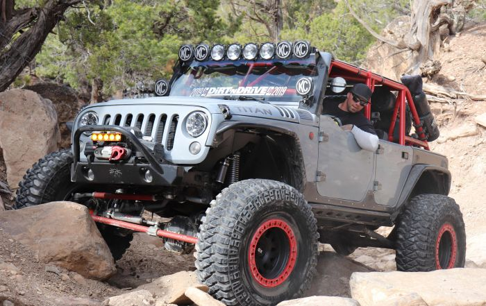 Customized Rock Crawling Jeep JK