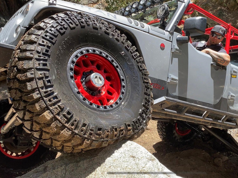 Custom Jeep JK Build with Custom Off Road Tires