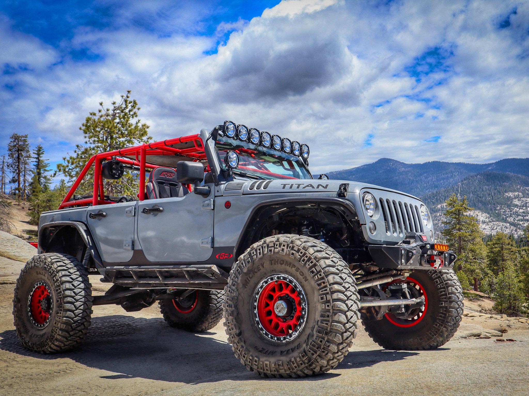 Custom Titan Off Road Jeep JK Side Shot
