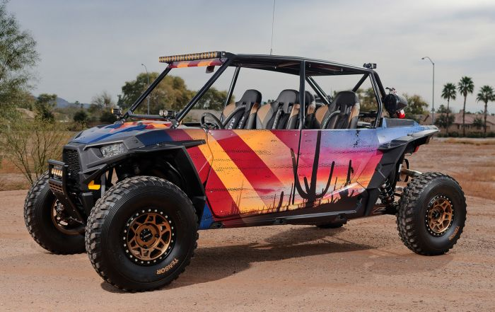 Custom Off Road Polaris RZR XP4 Build