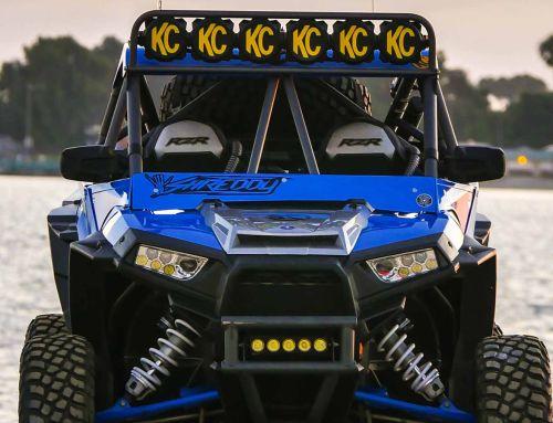 KC Equipped Polaris RZR Off Road Build