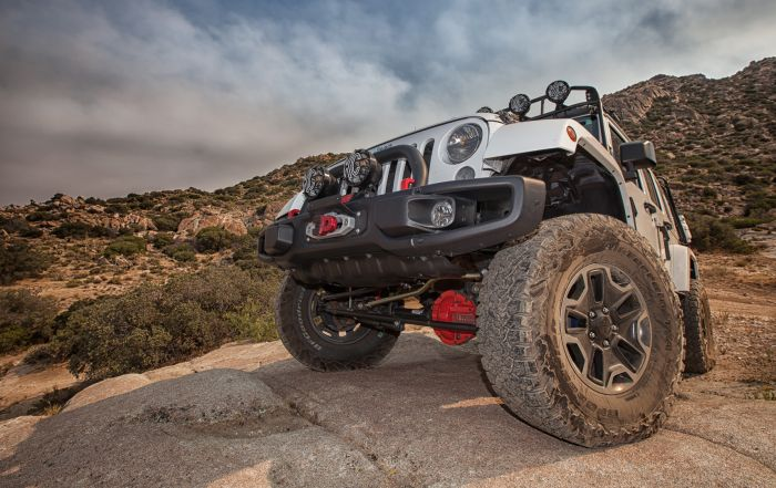 Custom Rock Crawling OverlandX Jeep JK Build