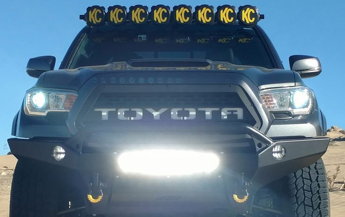 Customized Lighting on Toyota Tacoma