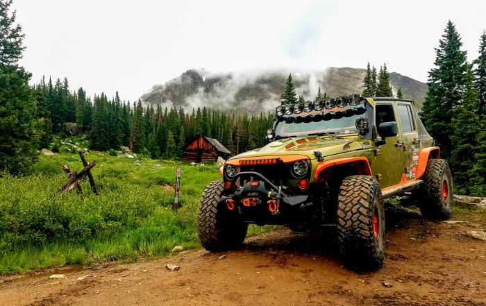 Off Road & Overland Ready Custom Jeep JKU Build
