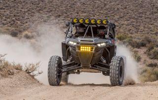 Tuned Custom Polaris RZR Desert Off Road Build