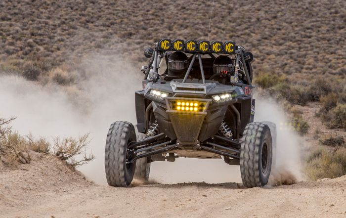 Tuned Custom Polaris RZR Desert Off Road Build