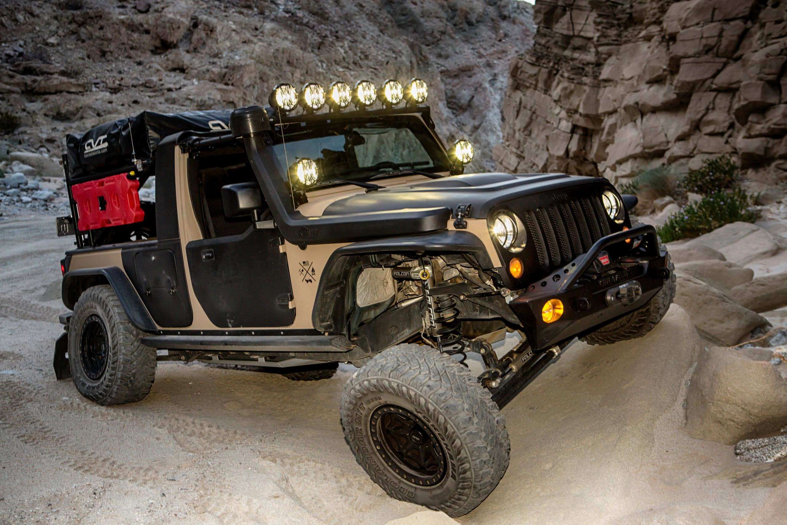 Custom Off Road, Overlanding & Camping Jeep JK Build - Image #01