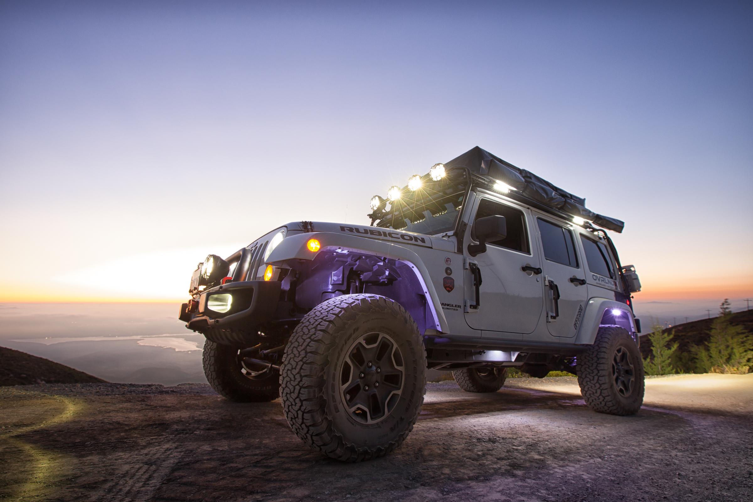Custom Rock Crawling OverlandX Jeep JK Build - Image #01