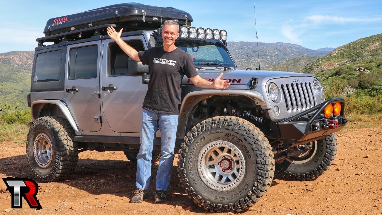 TrailRecon's Custom Jeep JK Overlanding Rig / Build - Image #01