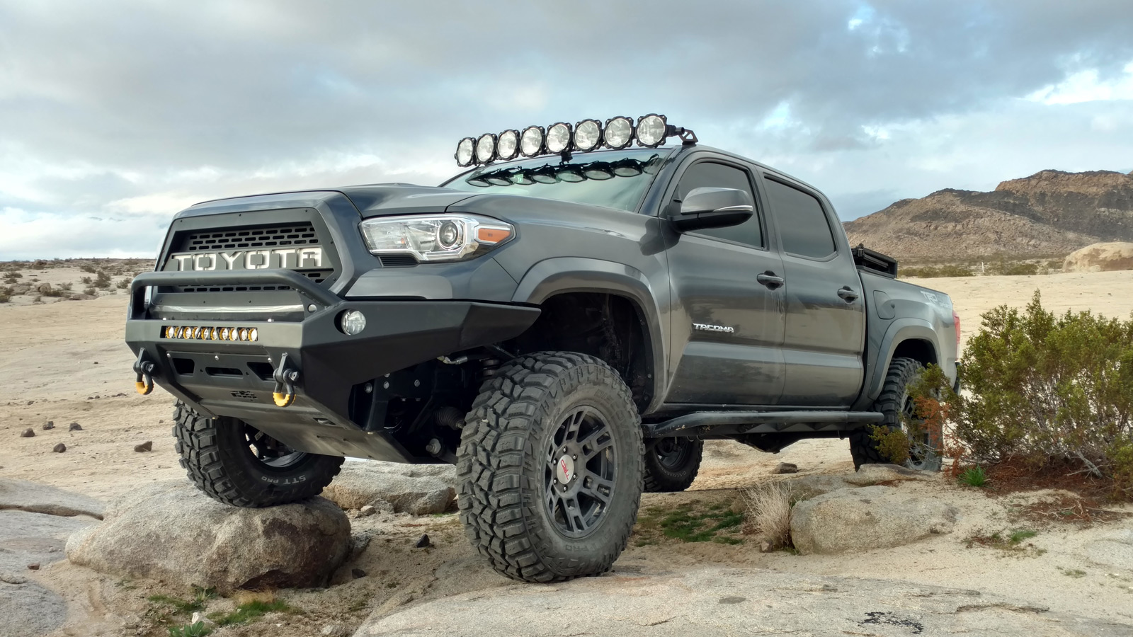 Custom Off Road Desert Stormer Toyota Tacoma - Image #02
