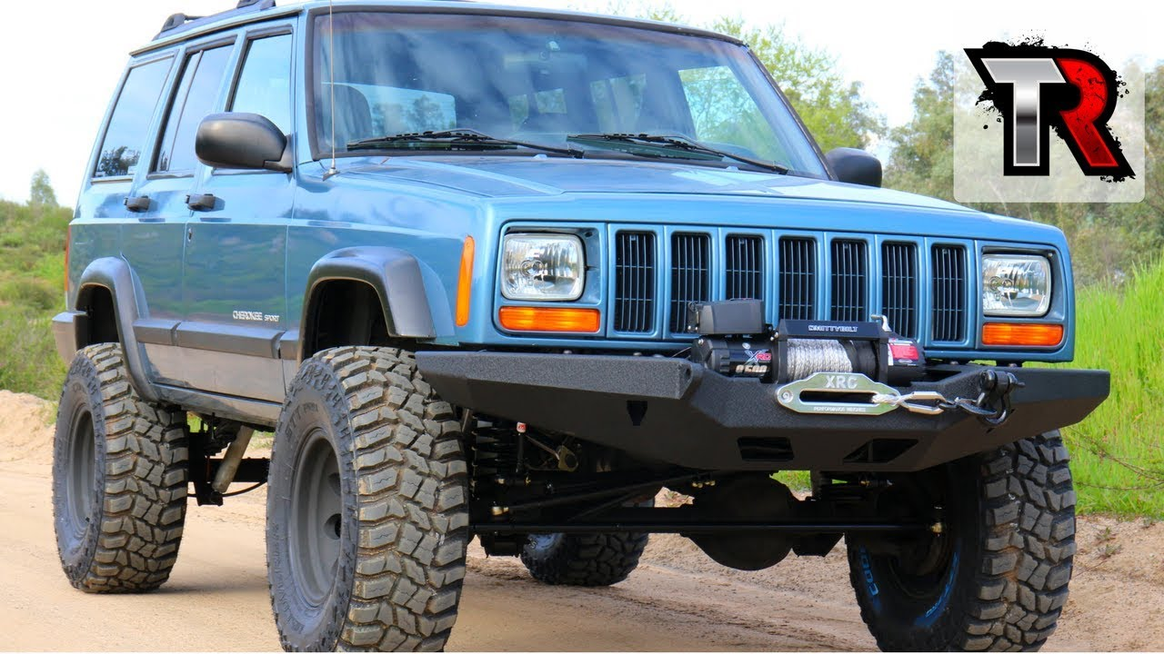 Custom Modded Off Road Jeep Cherokee XJ - Image #03