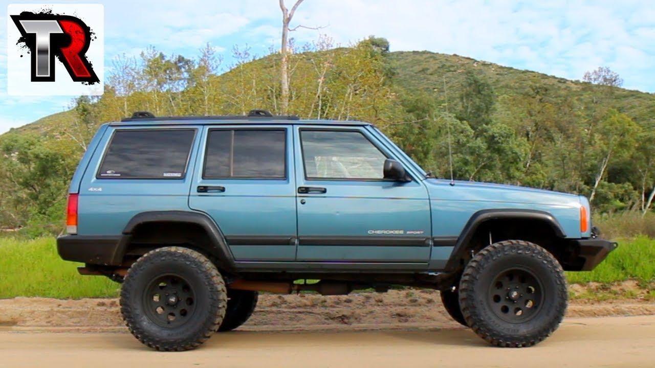 Custom Modded Off Road Jeep Cherokee XJ - Image #04