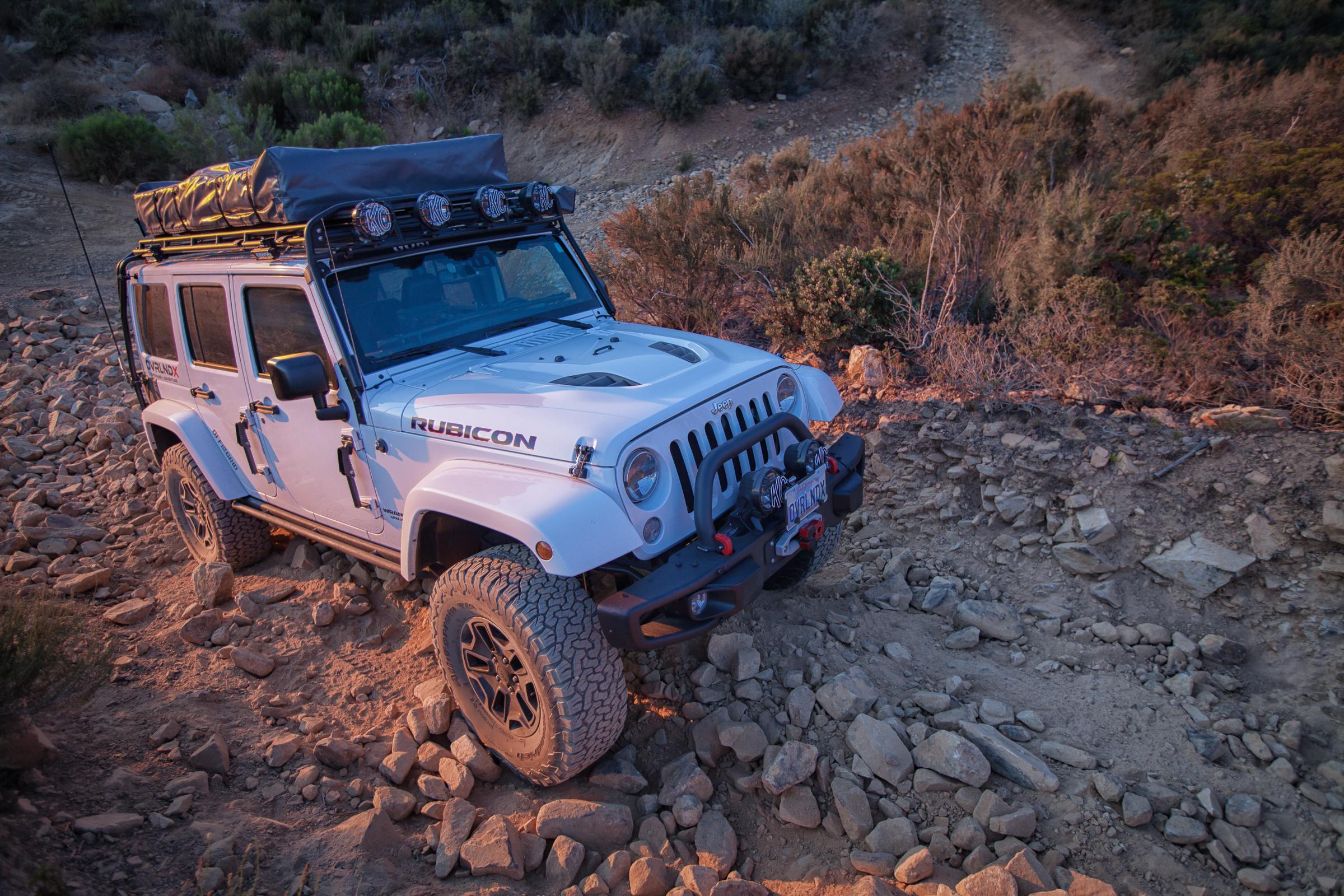 Custom Rock Crawling OverlandX Jeep JK Build - Image #05