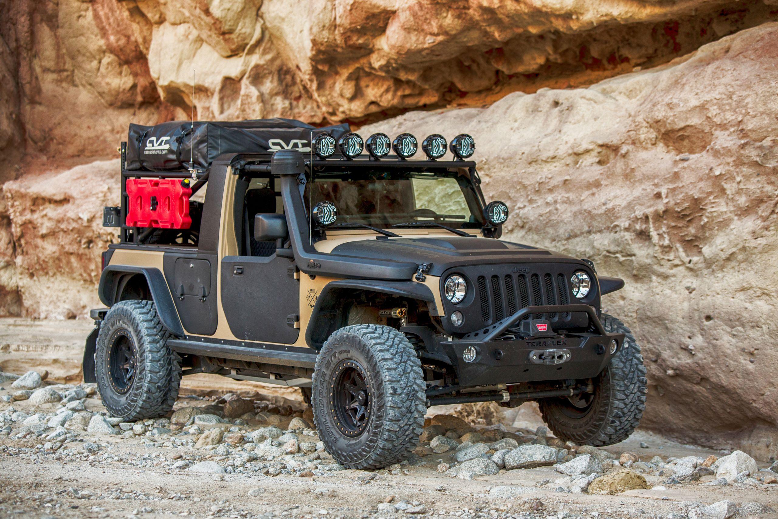 Custom Off Road, Overlanding & Camping Jeep JK Build - Image #05