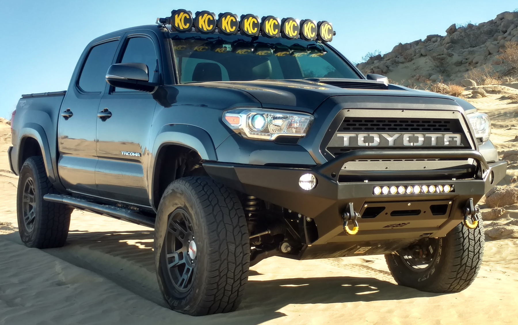 Custom Off Road Desert Stormer Toyota Tacoma - Image #05