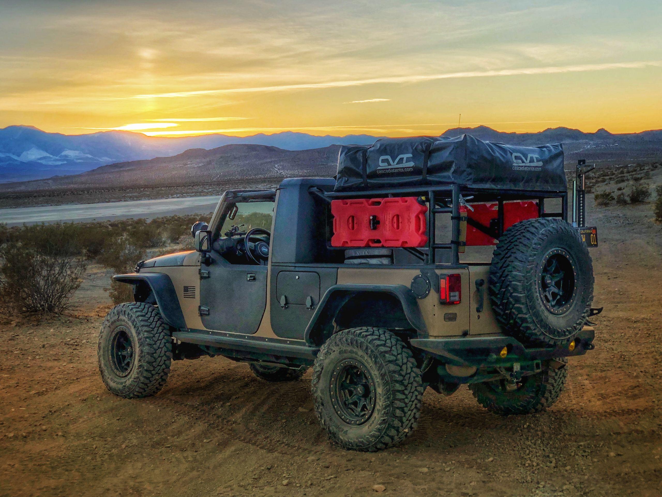 Custom Off Road, Overlanding & Camping Jeep JK Build - Image #06