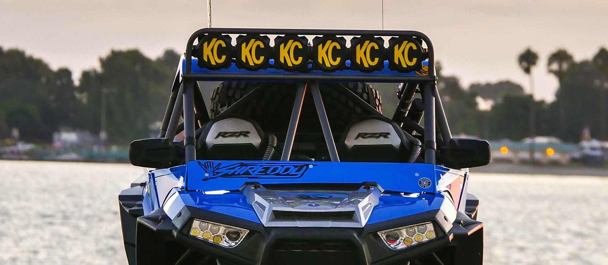 Custom Polaris RZR Off Road Build with KC Lights - Image #06