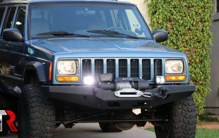 Custom Modded Off Road Jeep Cherokee XJ
